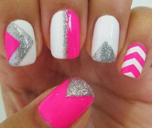 cute nails design, art nails 2014, summer nails designs