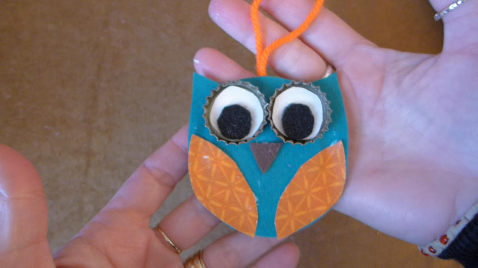 EasyMeWorld: Easy Owl Christmas Ornaments
