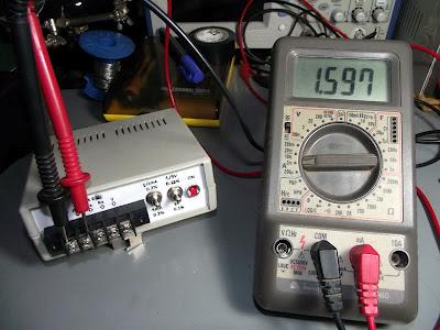 Teste de corrente no Minipa