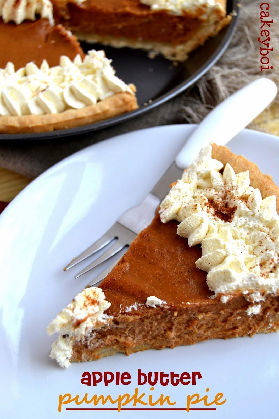 Apple Butter Pumpkin Pie photo