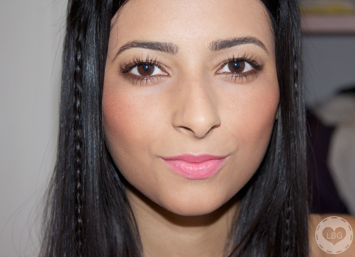 Inika Mineral Blush in 'Peachy Keen'