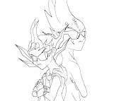 #7 Astral Coloring Page