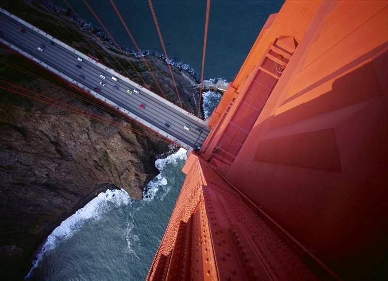 The Golden Gate Bridge Turns 77 in May 2014