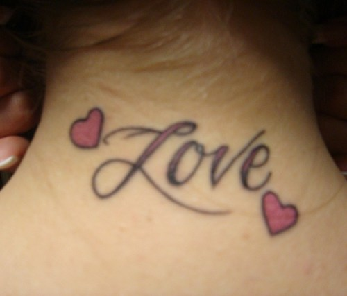 love tattoos on wrist designs. I Love You Tattoos Designs