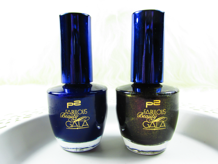 p2 Fabulous Beauty Gala - SWEET ADDICTION NAIL POLISH in desirable blue & alluring black
