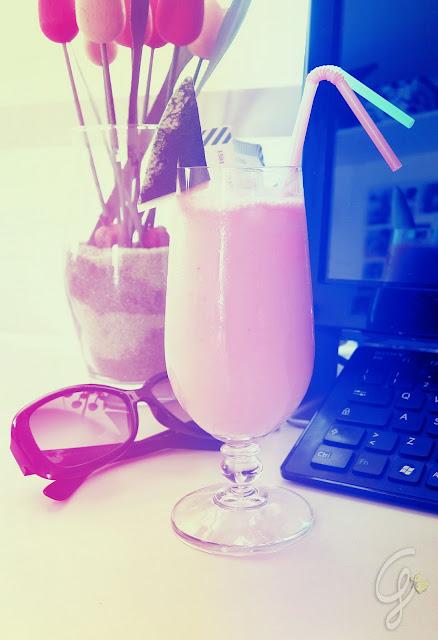 Frullato anguria e yogurt