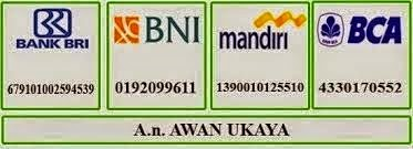 REKENING BANK DE NATURE INDONESIA