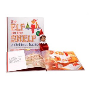 Image: The Elf on the Shelf: A Christmas Tradition with Blue Eyed North Pole Pixie-Elf