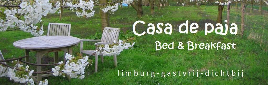 B&B CASA DE PAJA - ecologisch logeren Limburg Sint-Truiden