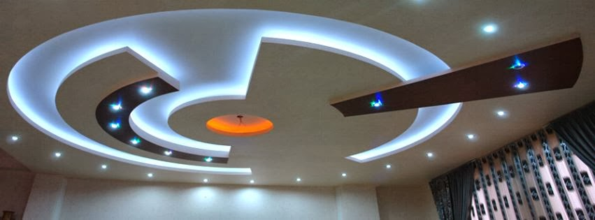 Model plafond platre moderne gascity for for Decoration de platre moderne