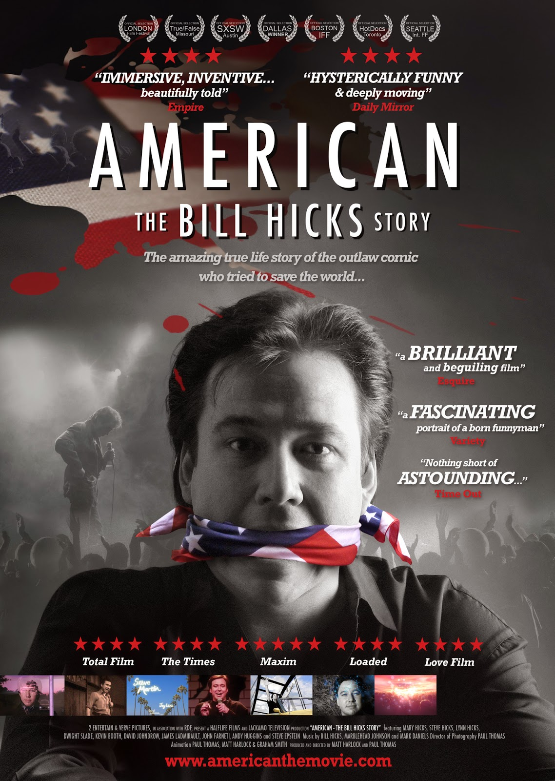 the culture cave  american the bill hicks story 2009