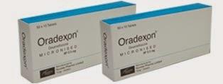 DOSIS OBAT ORADEXON Tablet (Dexamethasone / Deksametason)