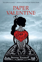 paper valentine by brenna yovanoff book cover