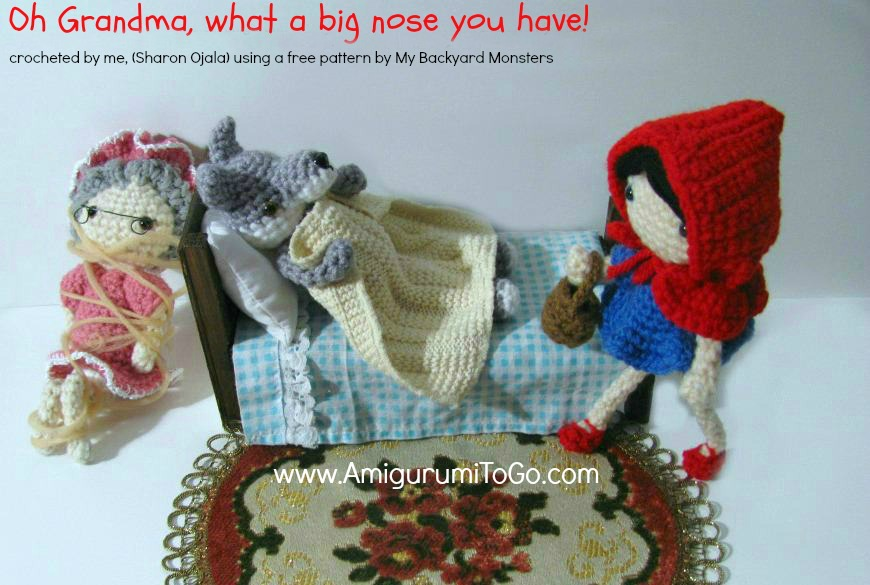 Little Amigurumi Patterns Free : Little red riding hood free pattern amigurumi to go