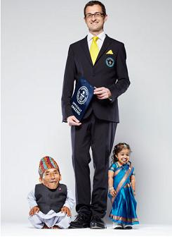 Worlds shortest man and woman - Guinness world records
