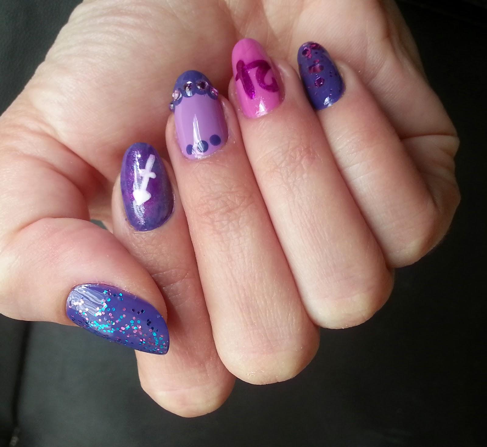 Squarebulb Nail Designs Birthday Nails