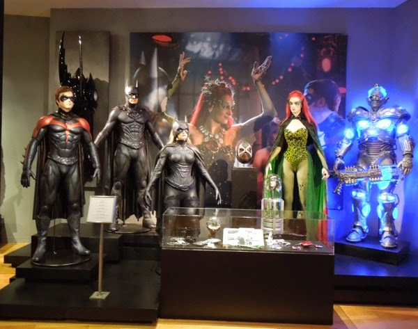 Original 1997 Batman and Robin movie costumes