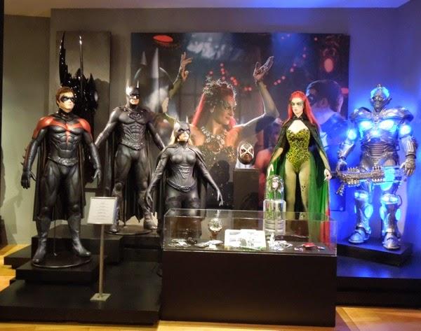 Original 1997 Batman and Robin movie costumes