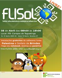 FLISOL-DF 2017 (08/04 no IFB de Taguatinga)