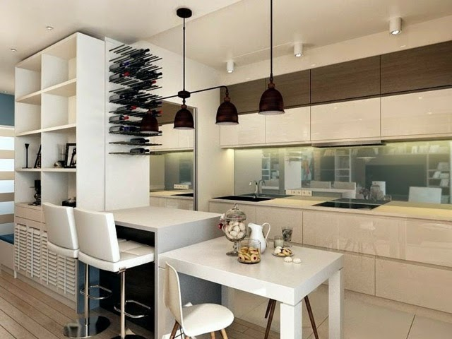 20 ultra modern kitchen designs and ideas for inspiration for Contemporary kitchen cabinet colors