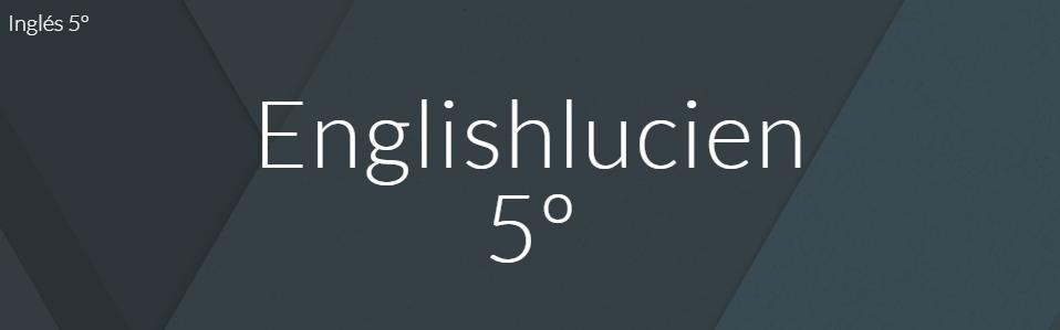 Inglés 5º