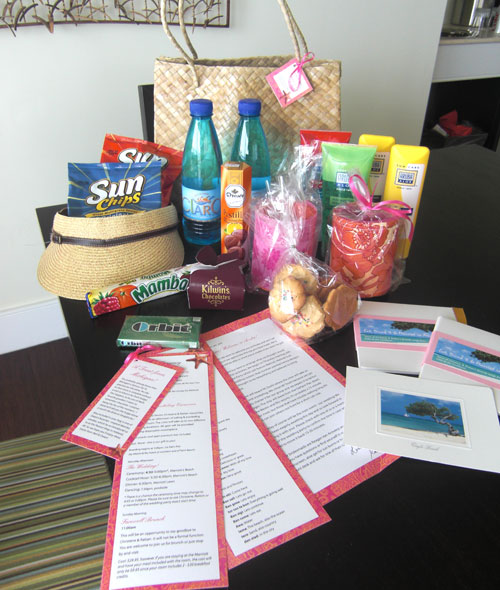 Wedding Gift Bag Ideas For Hotel Guests : Pinterest: Discover and save creative ideas