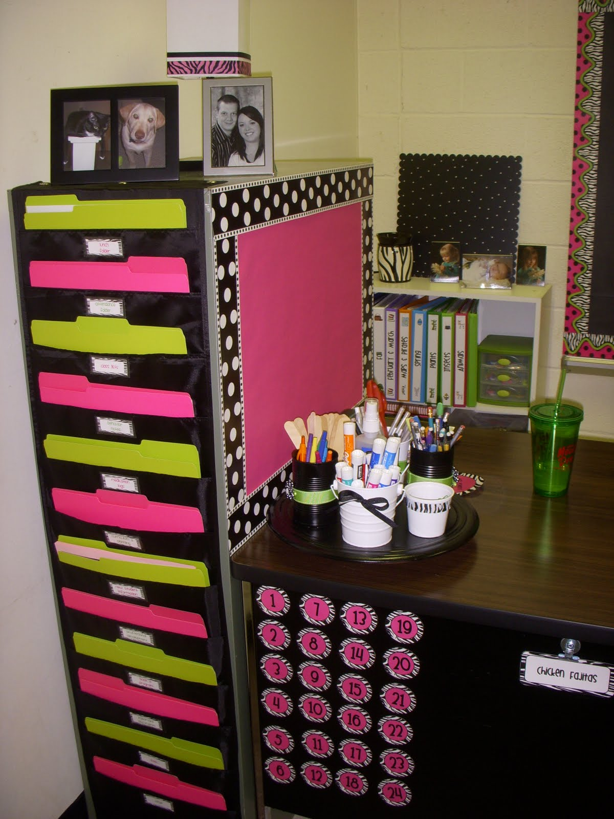 Classroom Storage Ideas ~ Tales of a teacherista more classroom pictures