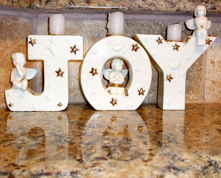JOY Angel Ceramic Candy Holder of JaguarJulie