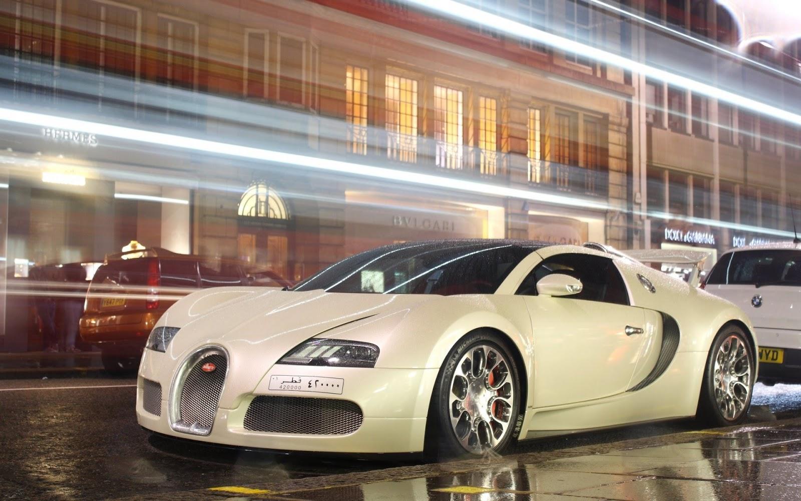 Bugatti Veyron Grand Sport White