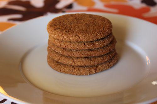 molasses cookies......week #3......12 weeks of christmas cookies