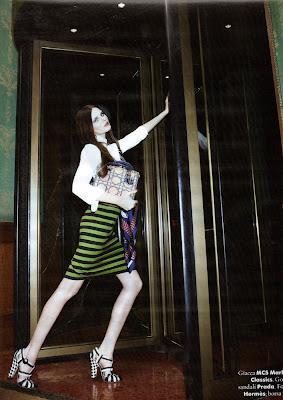 Vasilisa Pavlova for A Magazine Milan