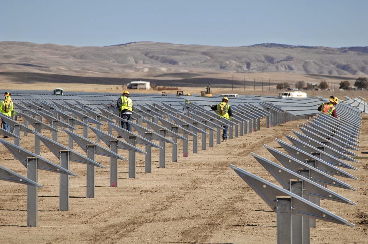 """""""Topaz"""" la planta solar más grande del mundo"""