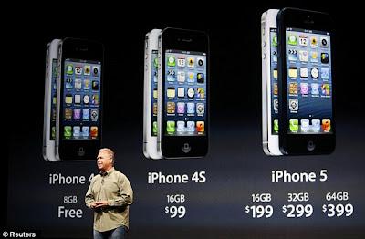 Perkiraan Harga iPhone 5 di Indonesia