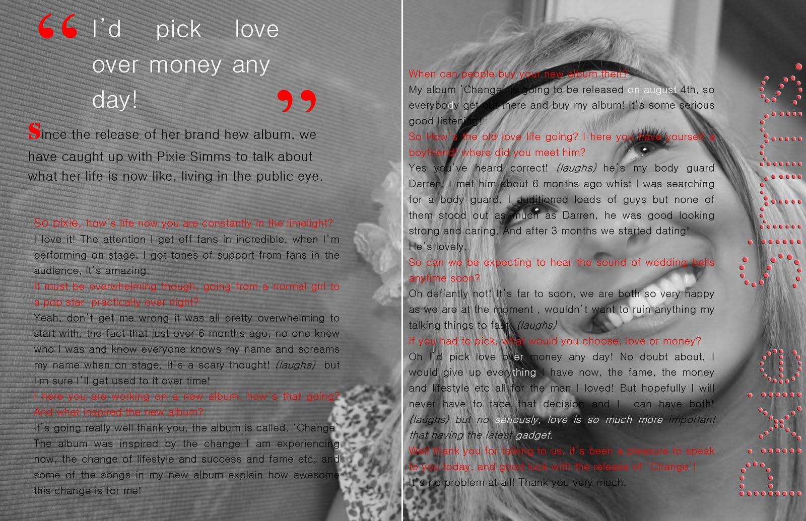 Design context magazine layout analysis - Double bad design ...