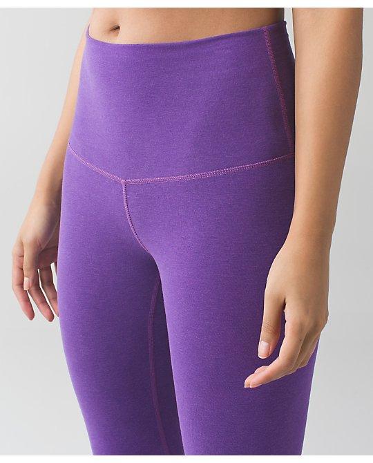 lululemon heathered-tender-violet wunder-udner-pant