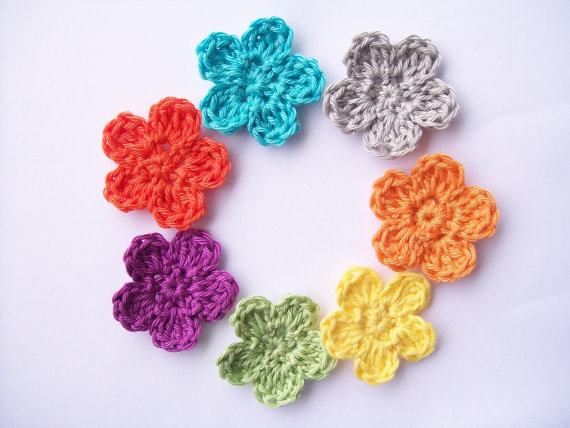 Crochet Flower Of Life Pattern : Flower Girl Cottage : Free Crochet Flower Pattern The ...