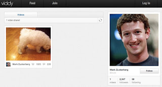 Mark Zuckerberg in viddy