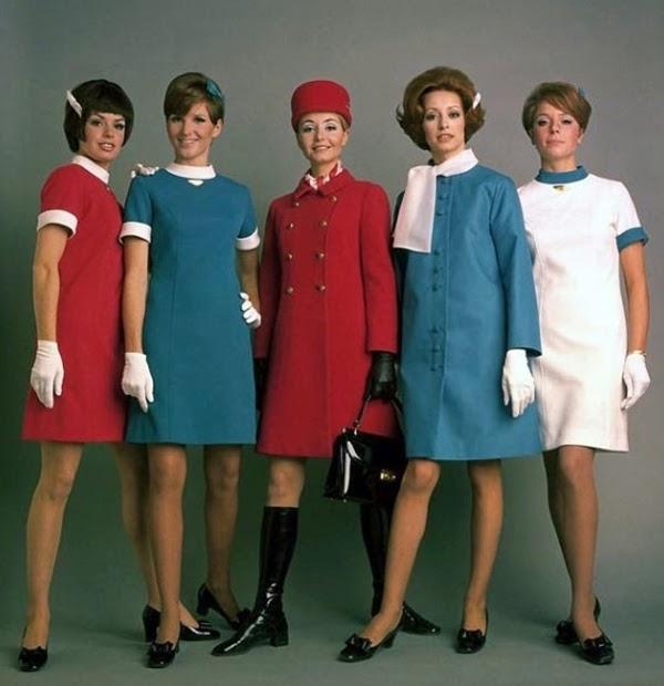 Gambar Koleksi Pakaian Pramugari yang Klasik