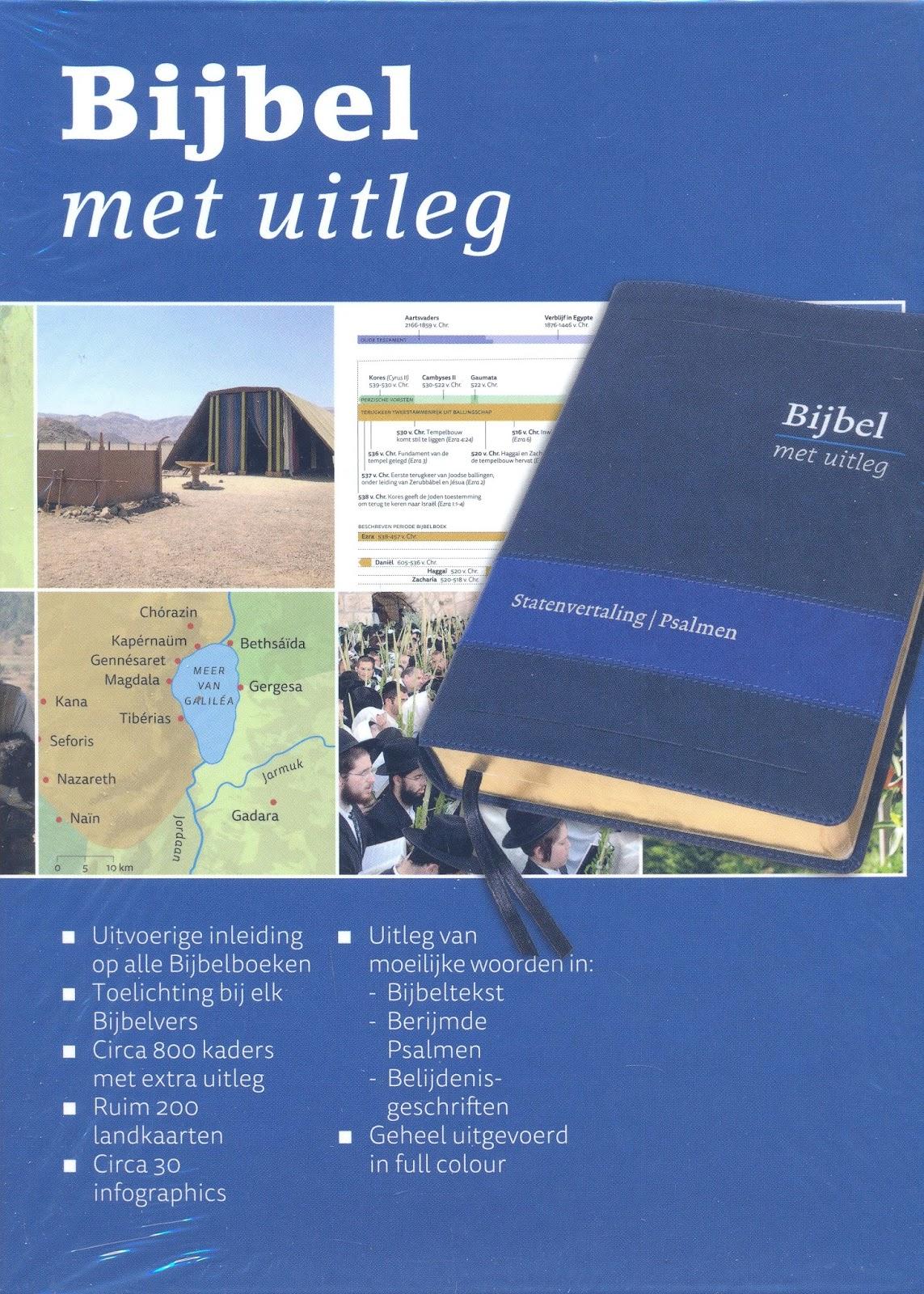 Citaten Met Uitleg : Boekenstek wat een schitterende bijbel met uitleg