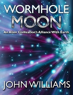 approachable scifi, sci-fi, john williams author, alien civilization, aliens book, astronaut fiction, earth alien alliance, wormhole moon