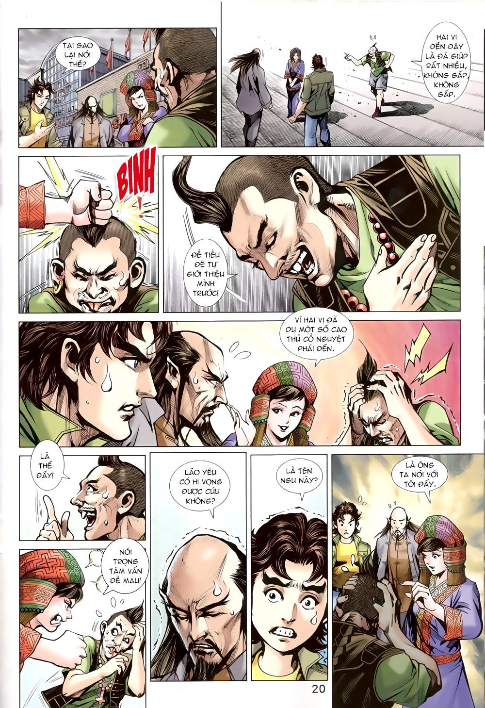 Tân Tác Long Hổ Môn chap 820 Trang 19 - Mangak.info