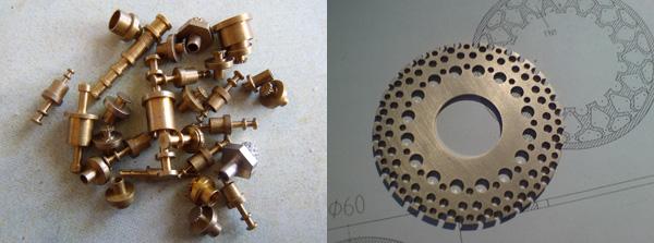 piezas de de reloj pequeñas