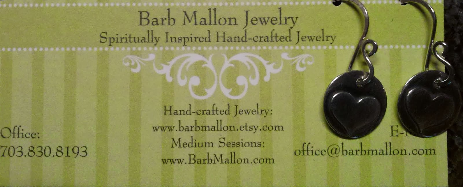 Check out Handmade Jewelry by Barb Mallon!