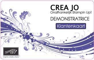 CreaJo klantenkaart