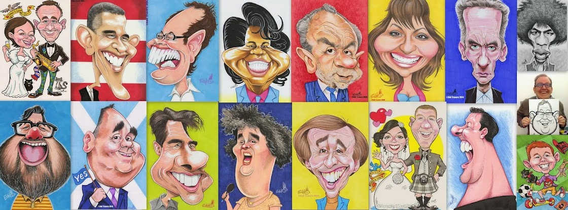 Edd Travers Caricature Blog