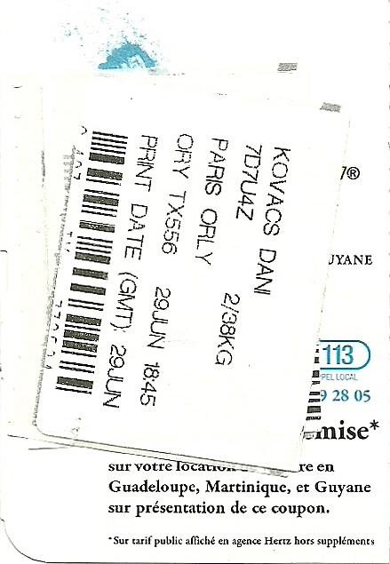 The traveler 39 s drawer air cara bes carte d 39 acc s bord pour le vol tx556 de port au prince - Vol paris port au prince air caraibes ...