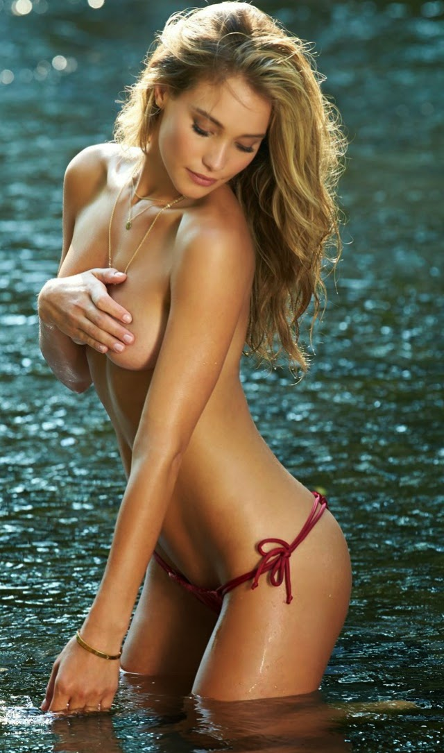Fotos de Hannah Davis en Sport Illustrated