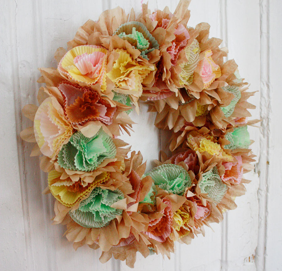 The World 39 S Easiest And Foofiest Easter Wreath Aunt Peaches