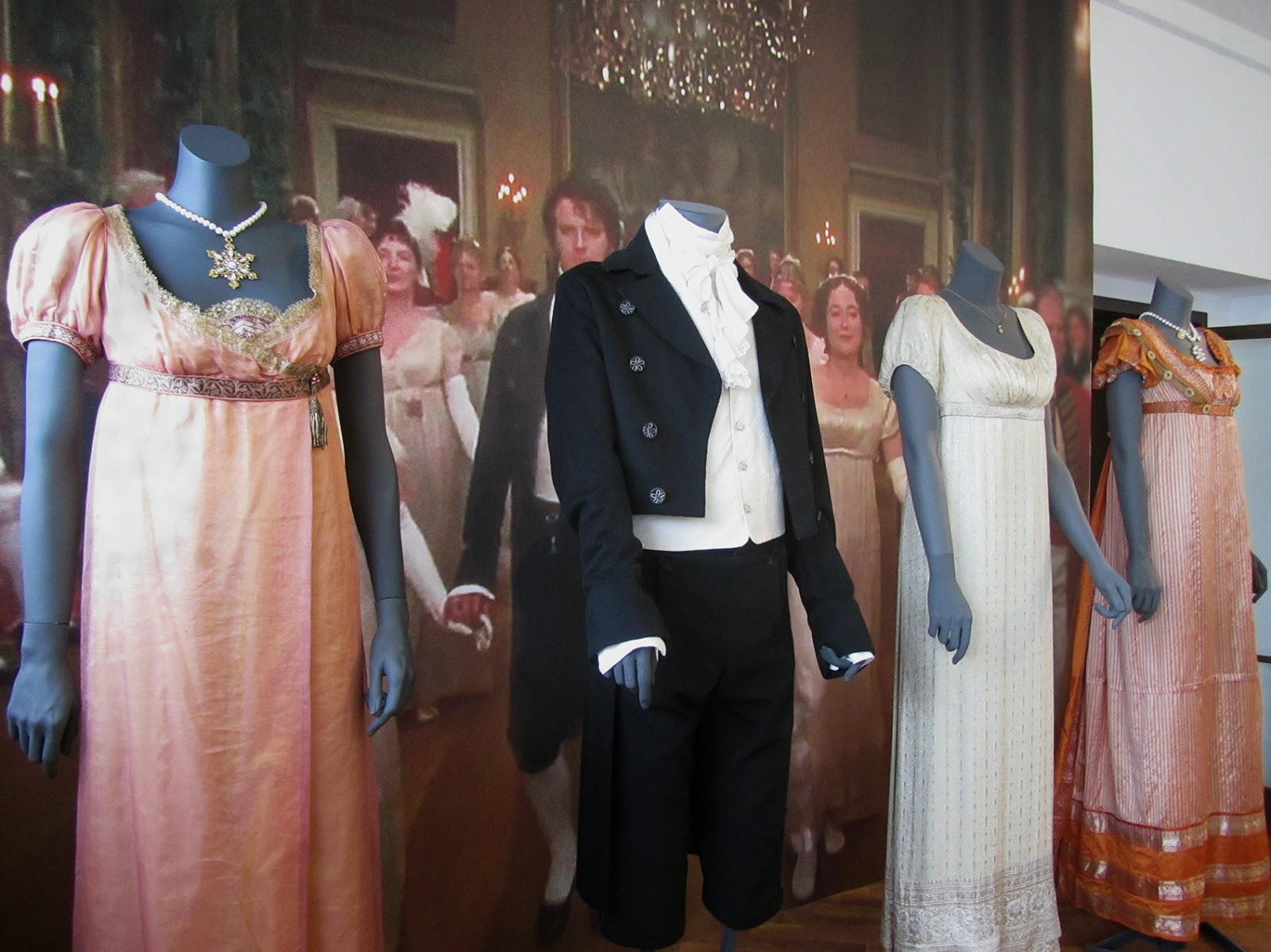 costumes worn in Pride and Prejudice