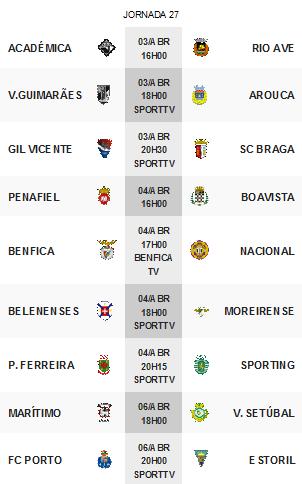 Primeira Liga 2014-2015 27ºJornada